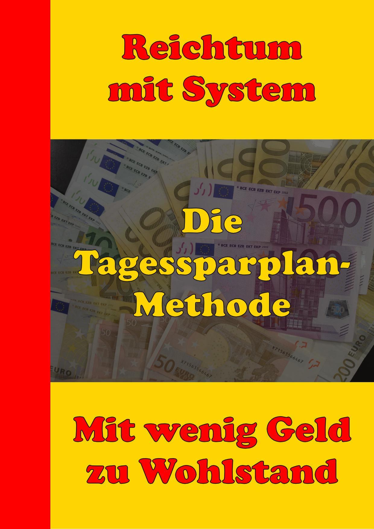 Die Tagessparplan-Methode ist eine Methode mitsamt vielen Techniken und Hilfsmitteln, um Dein Geldbewusstsein drastisch zu verbessern. Damit Du auch mit wenig Geld Deinen Weg machst hin zu Geld, Wohlstand und Reichtum.