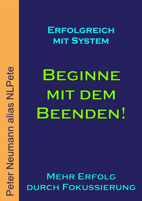 Cover - eBook - Beginne mit dem Beenden! - V1.0 - 72 DPI