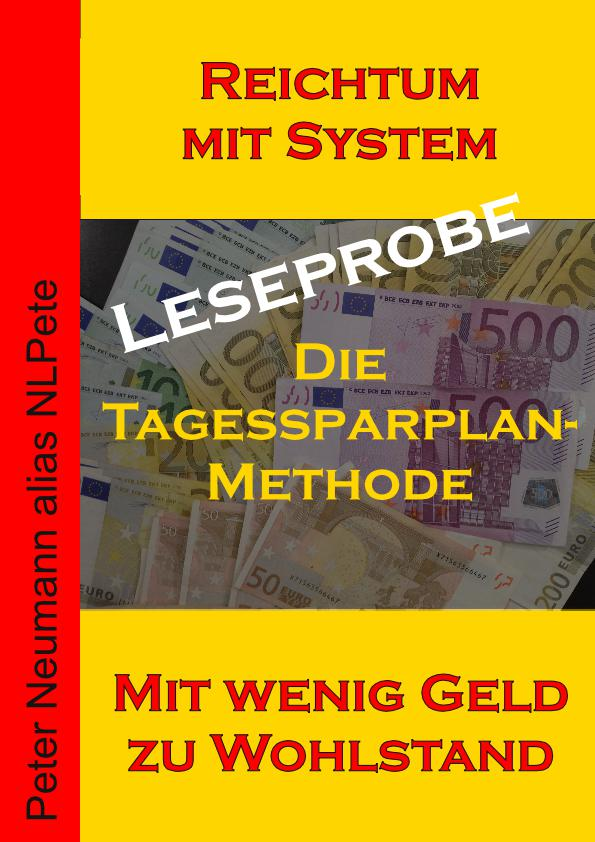 Cover - eBook - Die Tagessparplan-Methode - Leseprobe - V2.5 - 72 DPI