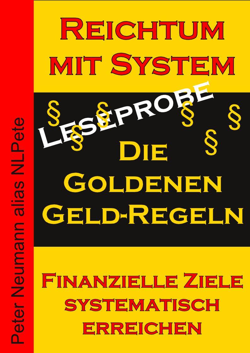 Cover - eBook - Die Goldenen Geld-Regeln - Leseprobe - V1.1 - 96 DPI - Mit Rand