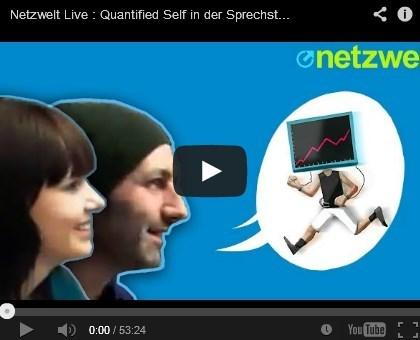Netzwelt-Videointerview zu Quantified Self
